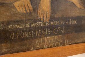 museo-campano-capua-stendardo-madonna-particolare